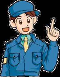 アースホームサービスのキャラクター男性