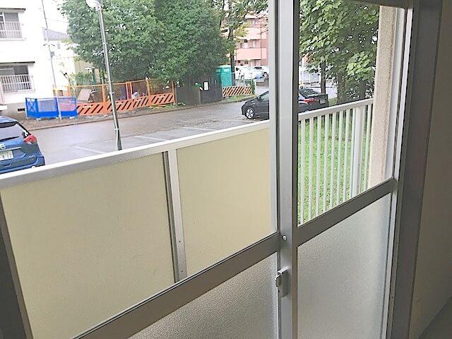 船橋市 自衛隊官舎 窓サッシ清掃
