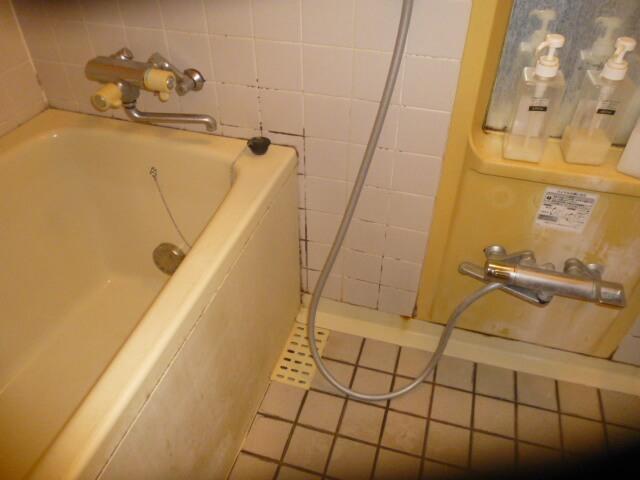 松戸市マンション 浴室清掃前の様子3