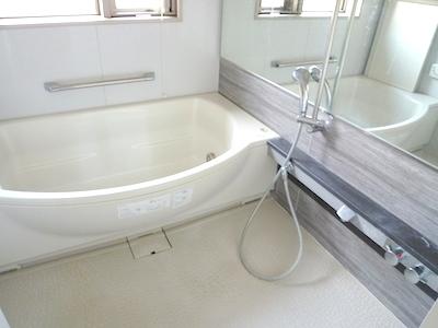 浴室の清掃、フッ素コーティング