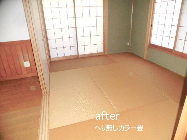 千葉県流山市東初石 戸建て住宅 畳表の張替え後の様子