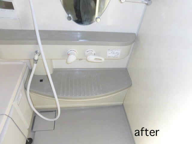 千葉県流山市東初石 戸建て住宅 浴室洗浄後の様子