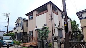 千葉県白井市 一戸建て住宅 ハウスクリーニング&リフォーム 施工例 外観
