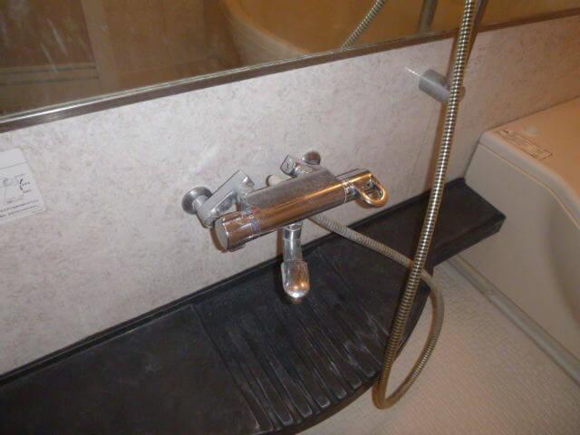 千葉県八千代市 エルプレシア 浴室 洗浄前の様子